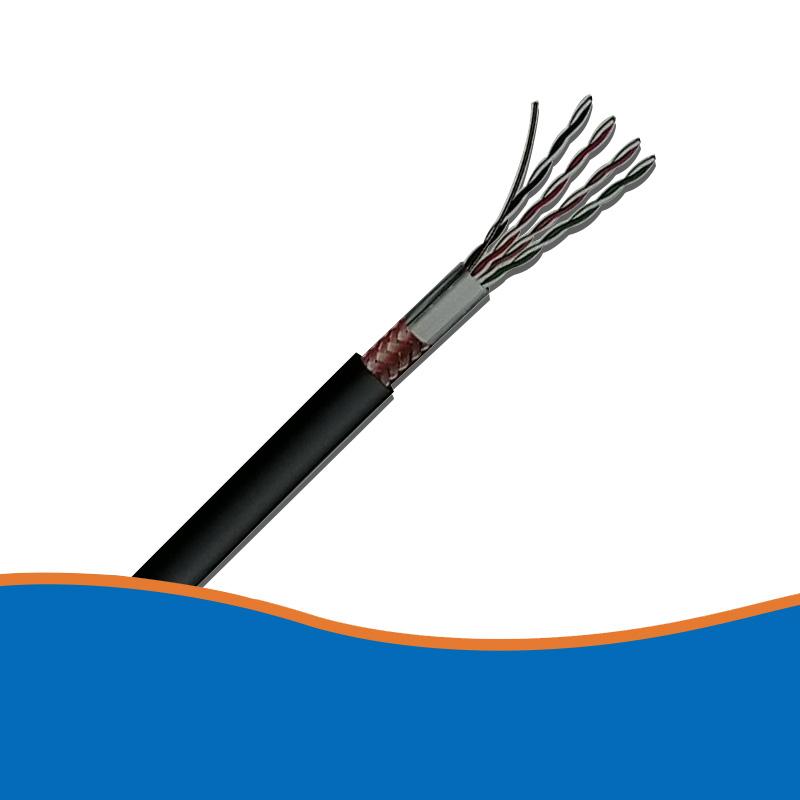 双屏蔽超五类数字通信电缆